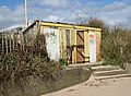 Derelict Lifeguard Station, Chapel St Leonards - geograph.org.uk - 154855.jpg
