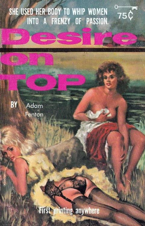 Desire On Top by Adam Fenton - Raven Book RB707 1963