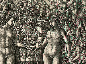The Marriage of Adam and Eve, probably 1540/15...