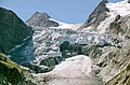 Detail of glacier melting down Mont Mine near Evolene 2012. Part of a serie through the years - panoramio.jpg