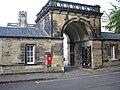 Devonshire Hall gate outside 19 Sep 2017.jpg