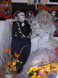 Ofrenda de Día de Muertos.