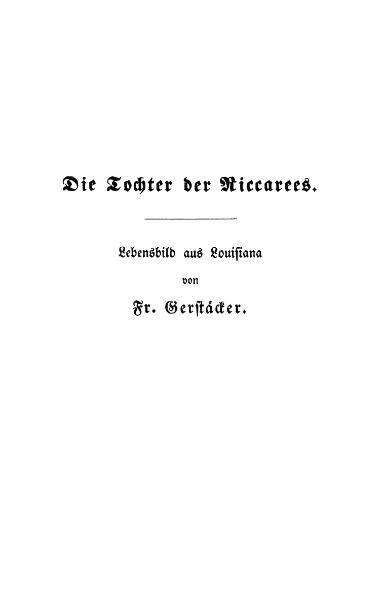 File:Die Tochter der Riccarees-Gerstaecker-1847.djvu