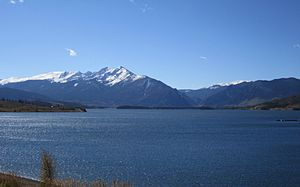 Denver Water - Dillon Reservoir, Denver's largest water storage facility