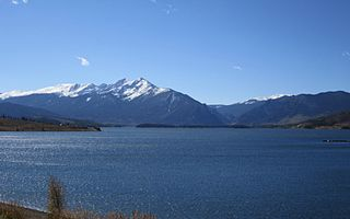 Dillon Reservoir Fresh water reservoir in Summit County, Col., US
