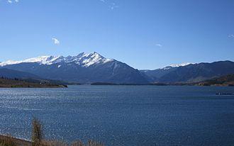 Dillon Reservoir - Dillon Reservoir in October