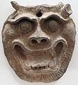 Dinastia han posteriore, maschera in terracotta, I-III sec dc..JPG