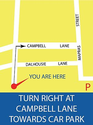 The Verge (shopping mall) - Directions to The Verge Car Park from Clive Street and Madras Street