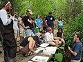 Discussing aquatic macroinvertebrates (5333414002).jpg