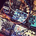Disquiet Junto concert - effects units & modular synthesizers, apexart 2012-11-27.jpg
