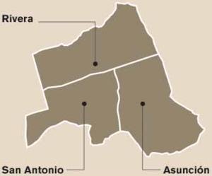 Belén (canton) - Districts of Belén canton