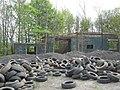 Disused building used as tyre dump - geograph.org.uk - 1274460.jpg