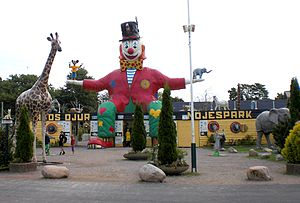 Öland Zoo and Amusement Park - Entrance