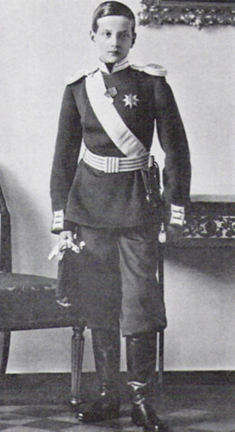 Grand Duke Dmitri Pavlovich of Russia - Grand Duke Dmitri Pavlovich as a teenager.