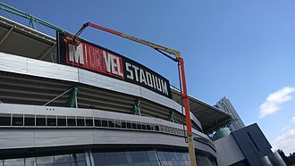 Docklands Stadium - Docklands Stadium being renamed from Etihad Stadium to Marvel Stadium
