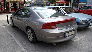 Dodge Intrepid - Rear view