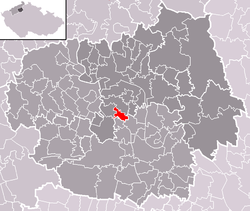 Location of Dolánky nad Ohří