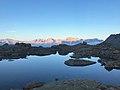Dolomity část Adamello - Západ slunce.jpg