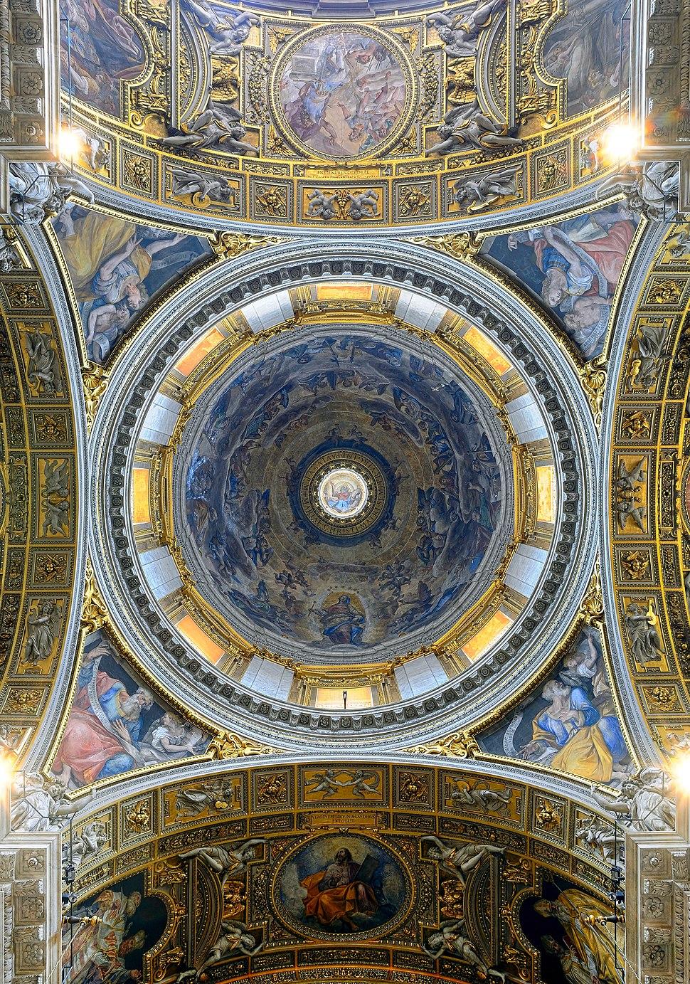 Dome of Cappella Paolina in Santa Maria Maggiore (Rome)