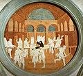 Donatello, storie di san giovanni evangelista, resurrezione di drusiana, 1434-43.jpg
