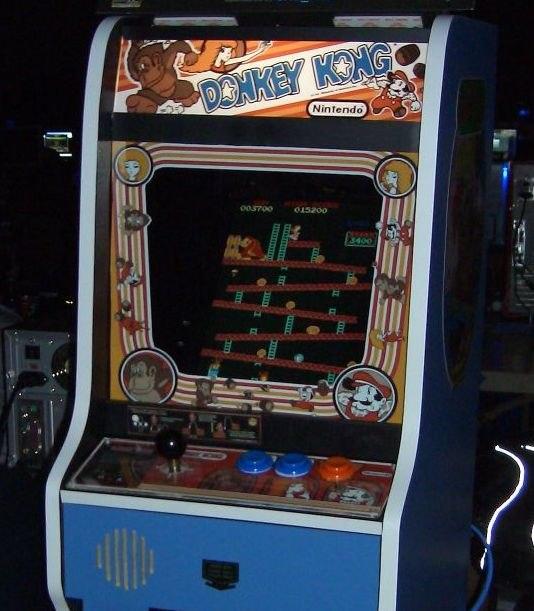 Donkey Kong arcade - zapwizard 34102189 (cropped)