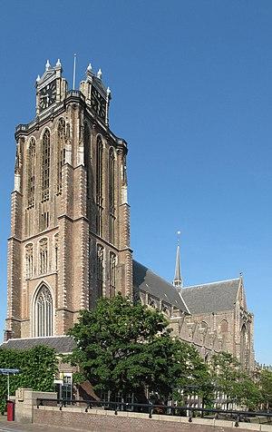 Grote Kerk, Dordrecht - The tower of the church