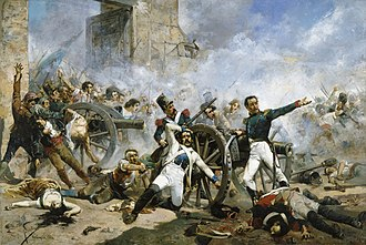 Dos de Mayo Uprising - Second of May 1808: Pedro Velarde takes his last stand.