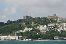 Dover Castle from the Channel.jpg