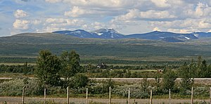 Dovrefjell - Fokstumyra and the Dovrefjell mountains
