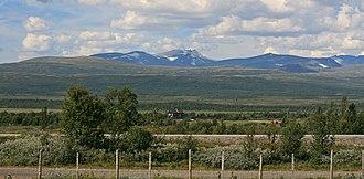 Dovrefjell - Fokstumyra and the Dovrefjell mountains