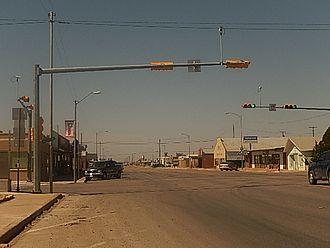 Crane, Texas - A look at downtown Crane