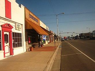 Dumas, Texas - Image: Downtown Dumas, TX IMG 0575