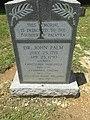 Dr John Palm's Grave Marker.jpg