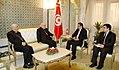 Dr Rafik Abdessalem a reçu Mgr Michel Sabbah, Patriarche de Jérusalem (6886730601).jpg