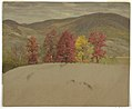 Drawing, Autumn Landscape in New England, probably October 1865 (CH 18201011-2).jpg