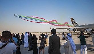 Dubai Airshow - 2017 aerobatics display team