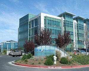 The PDI/DreamWorks Studio in Redwood City, California