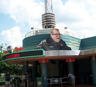 Drew Carey - Entrance to Sounds Dangerous! at Disney's Hollywood Studios