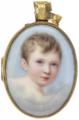 Drottning Josefina av Sverige (1807-1876) som barn, cirka 1815 - Livrustkammaren - 97850.tif
