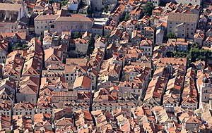 Dubrovnik - The Old Town from above