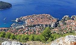 Dubrovnik as seen from Srđ - September 2017.jpg