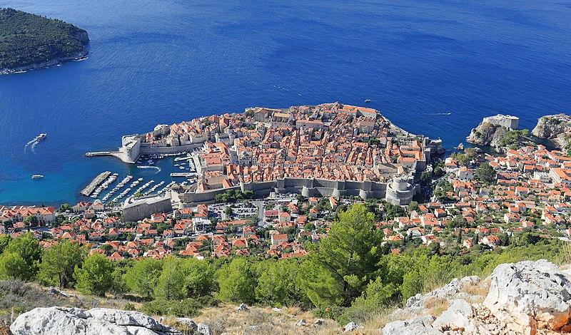 File:Dubrovnik as seen from Srđ - September 2017.jpg