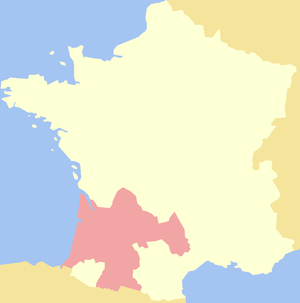 Cusack - The Duchy of Aquitaine, 1154