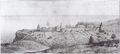 Duhaut-Cilly - View of Fort Ross (1828).png