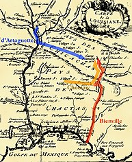 The Chickasaw Campaign in Louisiana Colony in 1736