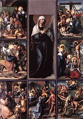 Seven Sorrows Polyptych