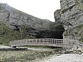 Durness, Smoo Cave and footbridge - geograph.org.uk - 596835.jpg