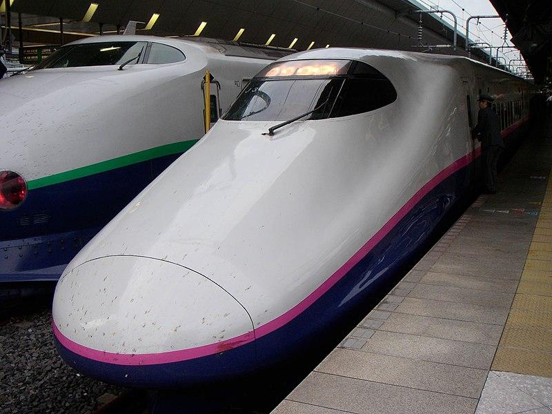 File:E2 series Shinkansen train at Tokyo Station.jpg