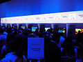E3 2011 - trying out the new Wii U controller (Nintendo) (5822673992).jpg
