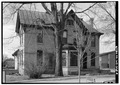 EAST SIDE - John Marx House, 108 Main Street, Menasha, Winnebago County, WI HABS WIS,70-MENA,1-4.tif